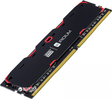 Оперативна пам'ять Goodram DDR4-2400 8192MB PC4-19200 IRDM Black (IR-2400D464L15S/8G)