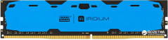 Оперативная память Goodram DDR4-2400 8192MB PC4-19200 IRDM Blue (IR-B2400D464L15S/8G)