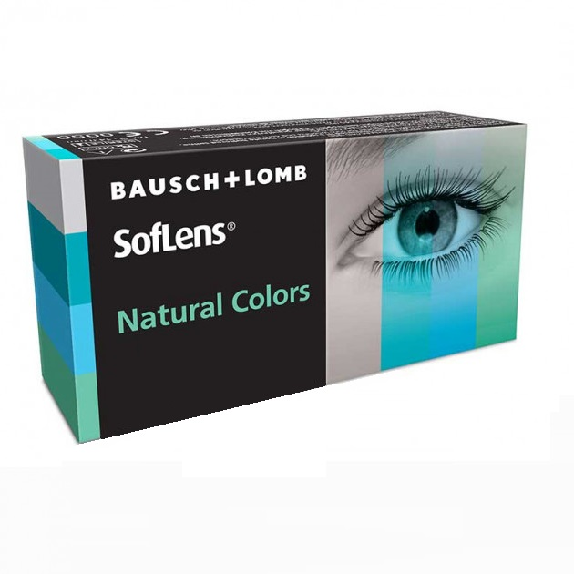 Контактные линзы Bausch   Lomb Soflens Natural Colors Pacific 2 шт d89c3df4f87aa