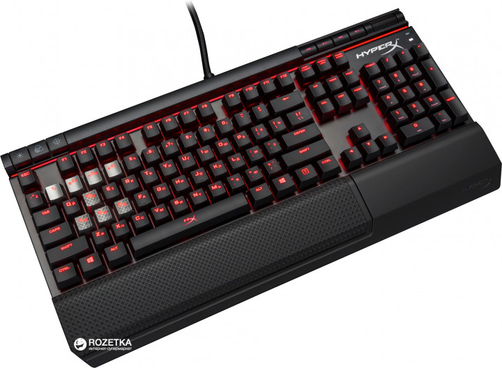 Клавиатура проводная HyperX Alloy Elite Cherry MX Brown USB Black (HX-KB2BR1-RU/R1)