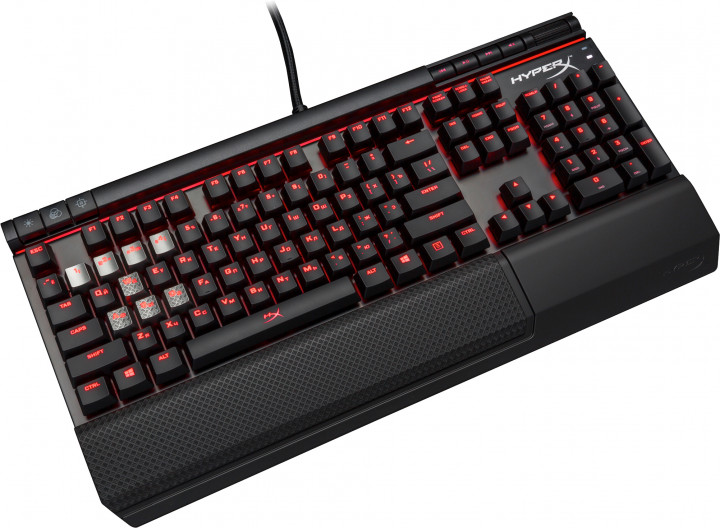 Клавиатура проводная HyperX Alloy Elite Cherry MX Red USB Black (HX-KB2RD1-RU/R1)