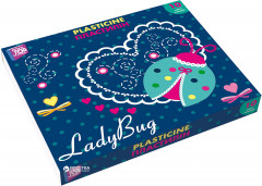 Пластилин Cool For School Ladybug 10 цветов 200 г (CF60204)
