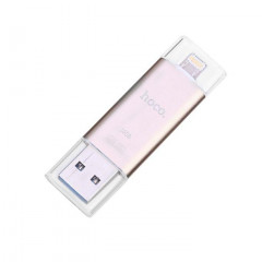 HOCO USB 3.0/Lightning Flash Disk UD2 MFI 16 GB Gold