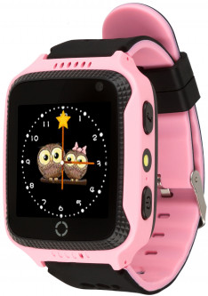 Смарт-часы Atrix Smart Watch iQ600 Cam Touch GPS Pink