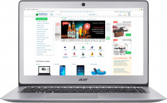 Ноутбук Acer Swift 3 SF314-51-P25X (NX.GKBEU.050) Sparkly Silver