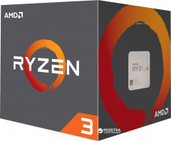 Процессор AMD Ryzen 3 1300X 3.5GHz/8MB (YD130XBBAEBOX) sAM4 BOX