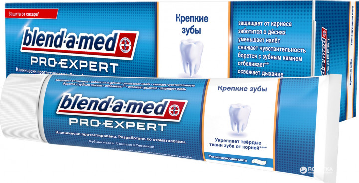 Зубная паста Blend-a-med Strong Teeth 100 мл (4015400856917)