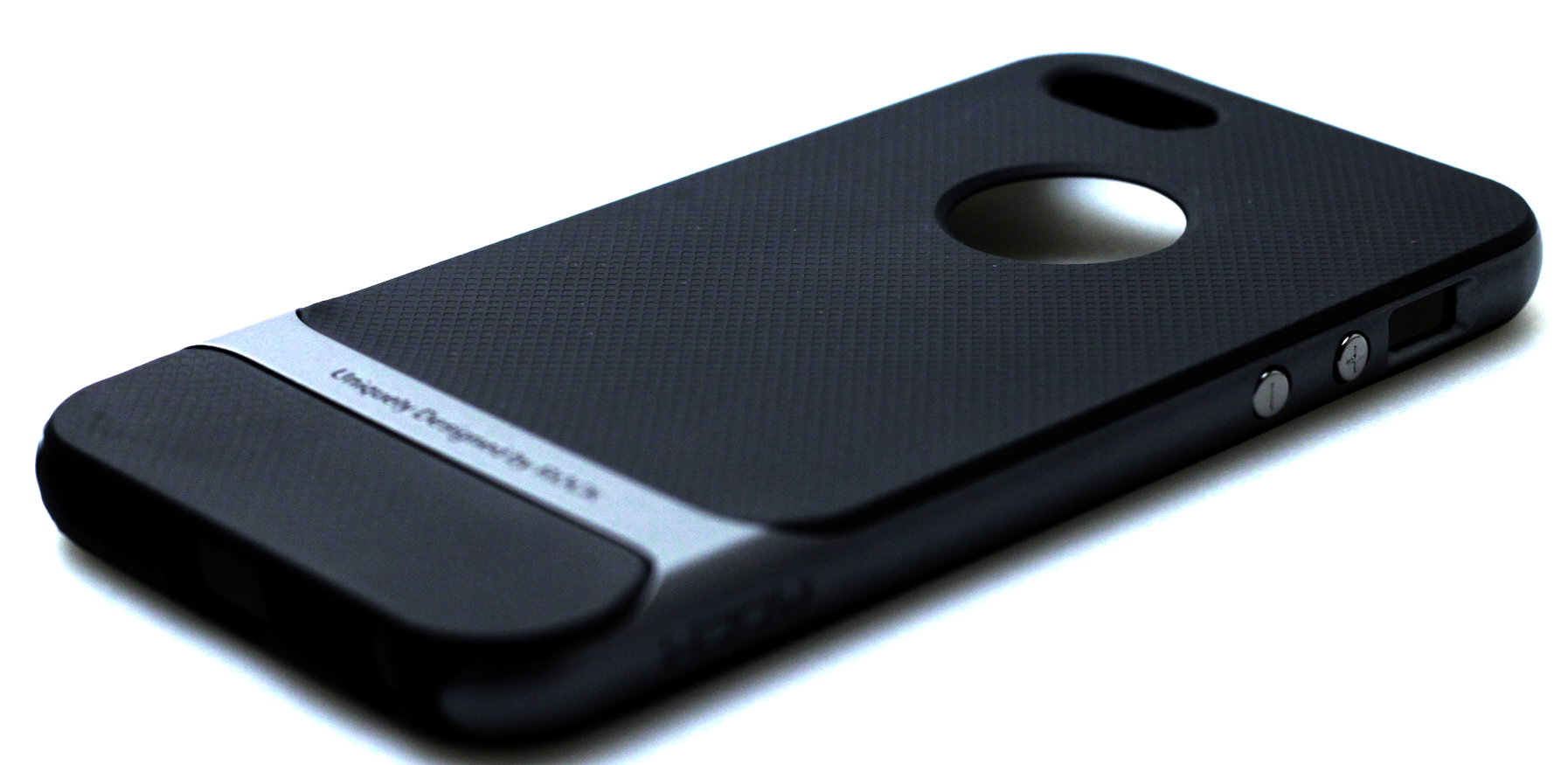 Rock Royce Series PC TPU IPhone 5 Black Grey