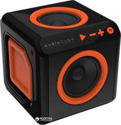 Акустическая система Allocacoc audioCube Black/Orange (3802/EUACUB)