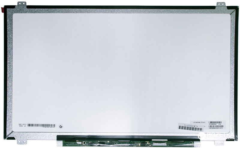 "Матрица PowerPlant LP156WHB-TPH1 15.6"" 1366x768 HD LED Slim матовая 30pin (справа) EDP A+"