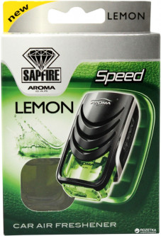 Ароматизатор Sapfire Aroma Car Supreme Speed Лимон 8 мл (5907718923155)