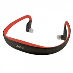 Bluetooth наушники AEC 602P Bluetooth Mp3/FM Sport Red
