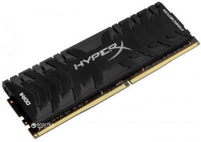 Оперативна пам'ять HyperX DDR4-2666 8192MB PC4-21300 Predator Black (HX426C13PB3/8)