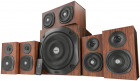 Акустична система Trust Vigor 5.1 Surround Speaker System for pc Brown (21786)