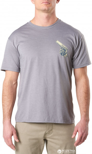 Футболка 5.11 Tactical Cold Hands 45 Tee 41191EA XL Grey Heather (2000980419944)