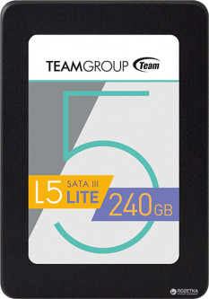 "Team L5 Lite 240GB 2.5"" SATAIII TLC (T2535T240G0C101)"