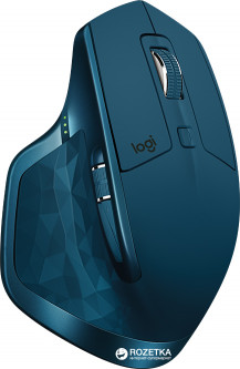 Мышь Logitech MX Master 2S Wireless/Bluetooth Midnight Teal (910-005140)