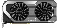 Palit PCI-Ex GeForce GTX 1080 Ti JetStream 11GB GDDR5X (352bit) (1480/11000) (DVI, HDMI, 3 x DisplayPort) (NEB108T015LC-1020J)