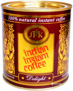 Кофе растворимый JFK Delight Indian Instant Coffee 180 г (8901259230250)