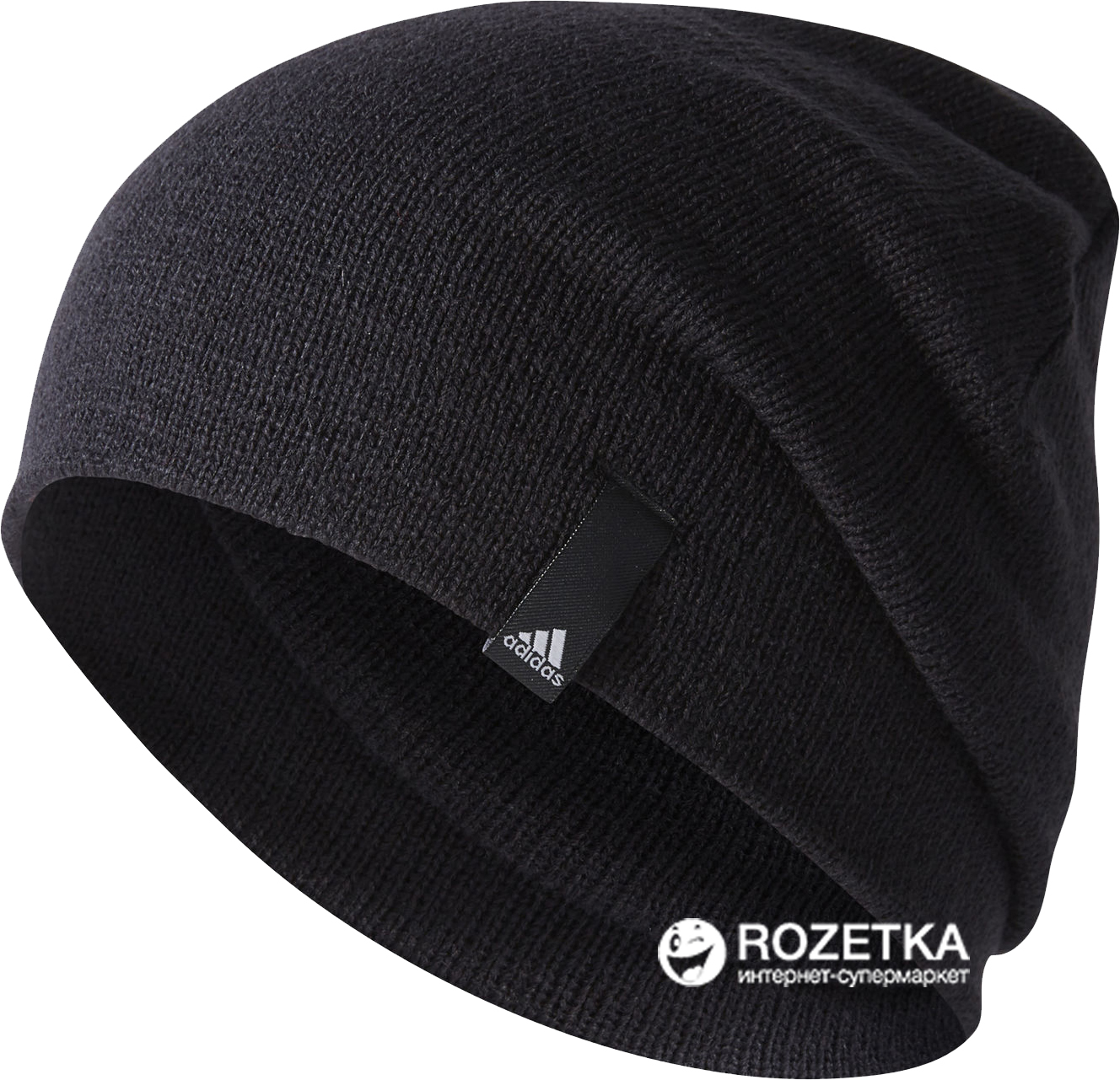 new product 97815 a5dff Шапка Adidas Perf Beanie AB0354-OSFW L