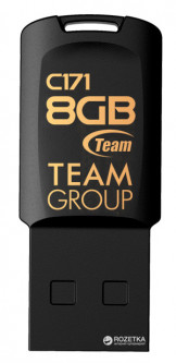 Team C171 USB 2.0 8GB Black (TC1718GB01)