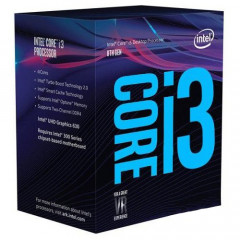 Процессор Intel Core i3-8100 3.6GHz/8GT/s/6MB (BX80684I38100) s1151 BOX