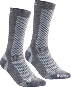 Комплект носков Craft Warm Mid 2-Pack Sock 1905544-985920 43/45 2 пары Granite/Platinum (7318572773868)