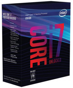 Процессор Intel Core i7-8700K 3.7GHz/8GT/s/12MB (BX80684I78700K) s1151 BOX