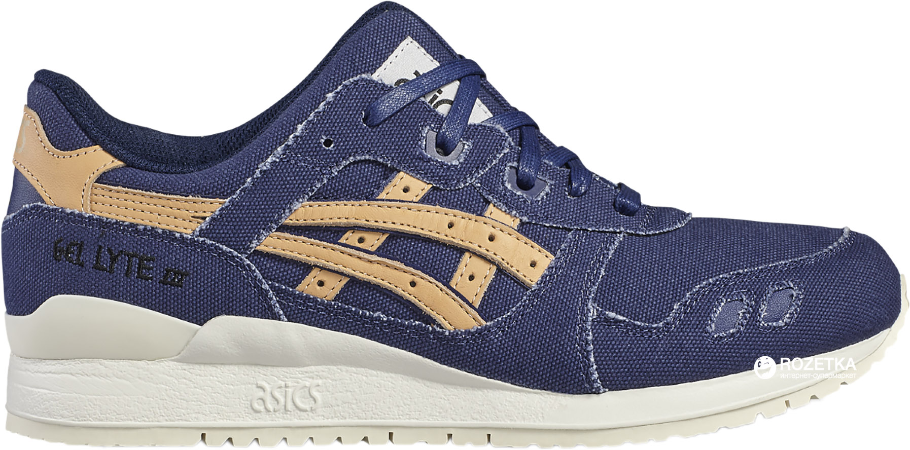 6d3ad73850 ROZETKA | Кроссовки ASICS At Gel-Lyte III Blu M c-H7E2N-4971 42.5 (9 ...