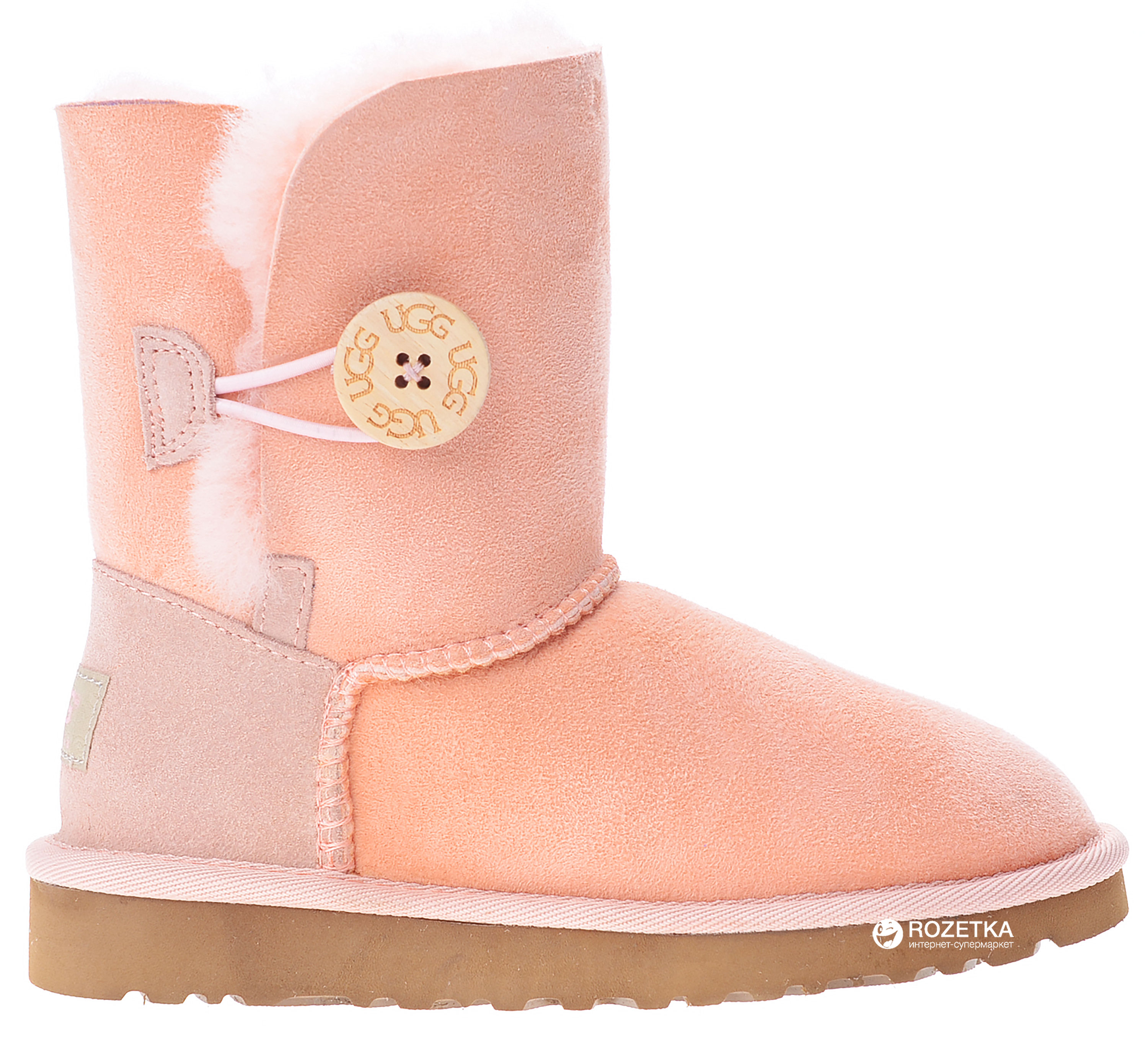 97817145d48 Угги UGG 5991K Bailey Button Kids Baby 31 Pink