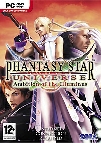 Phantasy Star Universe: Ambition of the Illuminus (PC, DVD-box, английская версия)