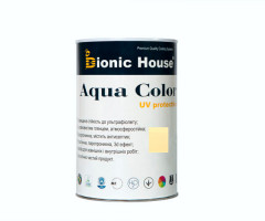 Краска для дерева Bionic-House Aqua Color UV-protect 0,9л Слоновая кость А102