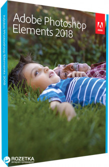 Adobe Photoshop Elements 2018 Russian AOO License 1 лицензия 1 ПК (65281861AD01A00)