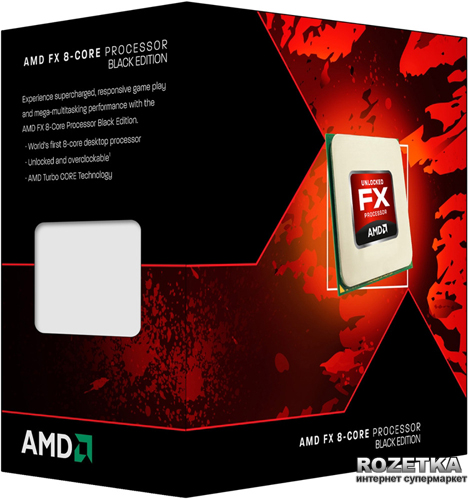 Процессор AMD FX-8320 3.5GHz/5200MHz/8MB sAM3+ BOX