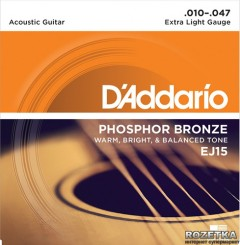DAddario EJ15 Phosphor Bronze Extra Light (10-47)