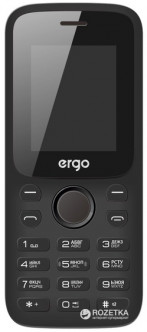 Ergo F182 Point Dual Sim Black