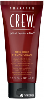 Крем для стайлинга American Crew Firm Hold Styling Cream Cильной фиксации 100 мл (669316418420)