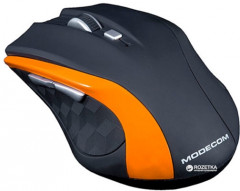 Мышь Modecom MC-0WM5 Wireless Black/Orange (M-MC-0WM5-160)