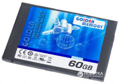 "Golden Memory 60GB 2.5"" SATAIII TLC (AV60CGB)"
