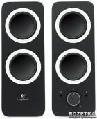 Акустическая система Logitech Multimedia Speaker Z200 Midnight Black (980-000810) - изображение 3