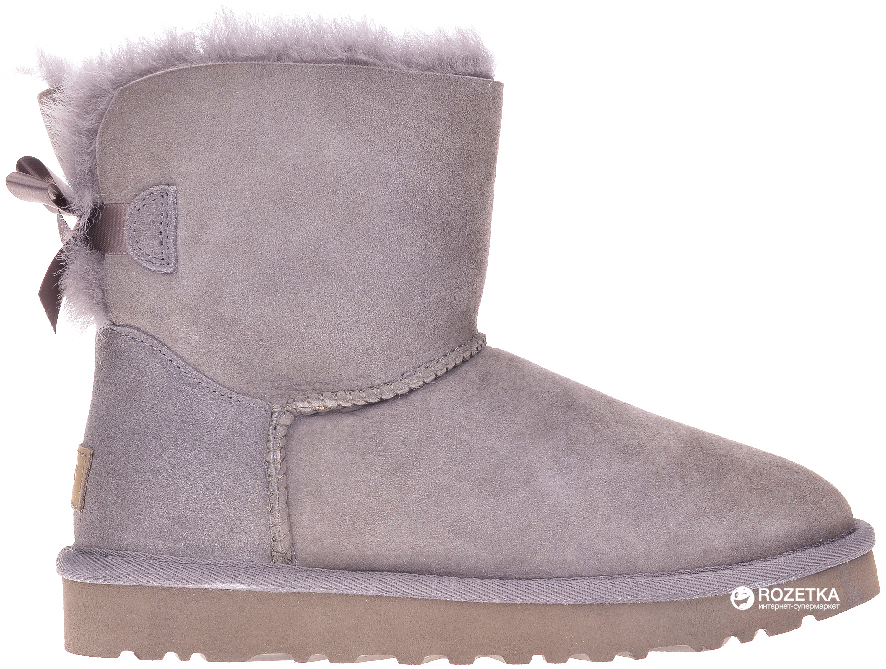 bb6c70ac9ab Угги UGG 1016501 Bailey Bow Mini II 37 (US6) Grey