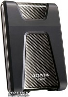 "Жесткий диск ADATA DashDrive Durable HD650 1TB AHD650-1TU3-CBK 2.5"" USB 3.0 External Black - изображение 1"