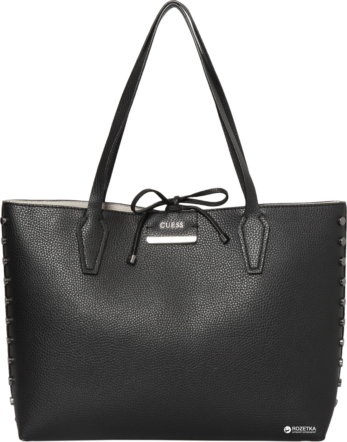 a8d675a191f4 Женская сумка Guess Bobbi Inside Out Tote HWBS6422150-BSE Черная  (190231064770)