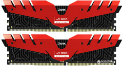 Оперативная память Team T-Force Dark ROG DDR4-3000 16384MB PC-24000 (Kit of 2x8192) Red (TDRRD416G3000HC16CDC01)