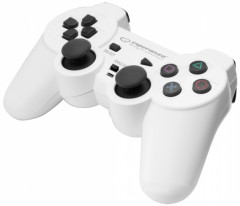 Проводной геймпад Esperanza Trooper PS3/PC White (EGG107W)
