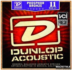 Dunlop DAP1152 Phosphor Bronze Medium Light (11-52)