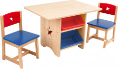 Детский стол KidKraft Star Table & Chair Set (26912)