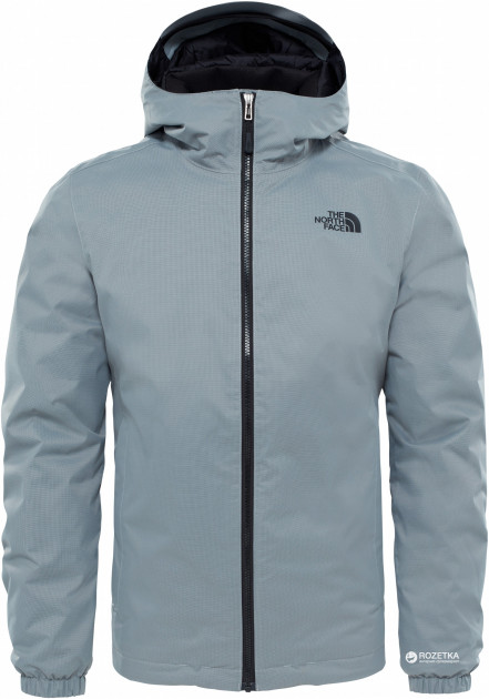 Куртка The North Face Men's Quest Insulated Jacket T0C302 XL NRS Monument Grey Black Heather (190851395186)