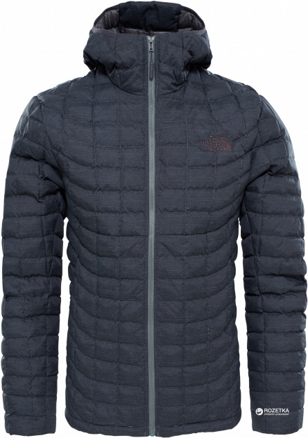 Куртка The North Face Men's Thermoball Hoodie T9382A XXL Q2T Tnf Black Fusebox Grey (190849810950)