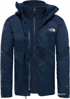 Куртка The North Face Men s Evolve II Triclimate Jacket T0CG55 XL H2G Urban  Navy (888656839645 c991285aab901